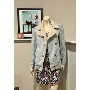 SOLD Rubbish Button Up Jean Jacket
